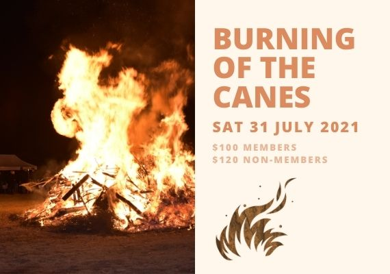 Burning of the Canes Hunter Valley