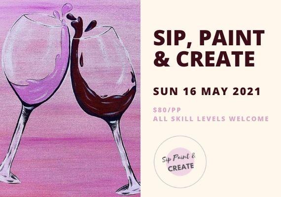 Sip Paint & Create Class
